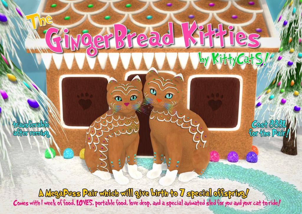 KittyCatS!-GingerBread-Kitties-Poster